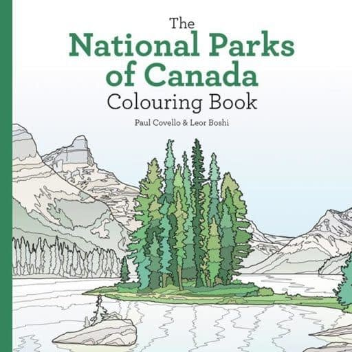 a national parks colouring book for cottage tech detox