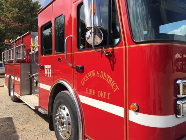 Fire departments in Huron-Bruce receive support from the province