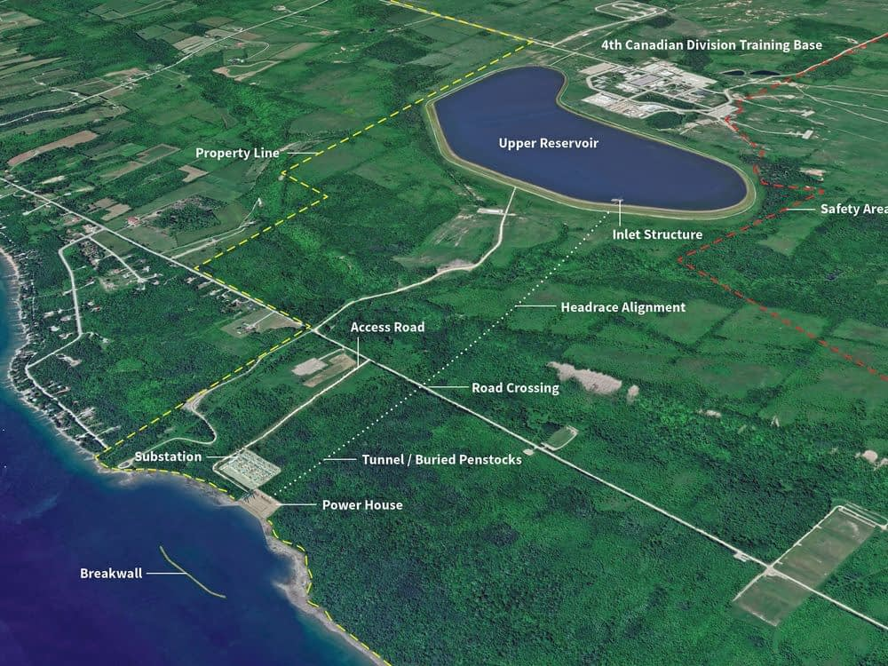 Petition against Meaford pumped-storage plan filed as company proceeds