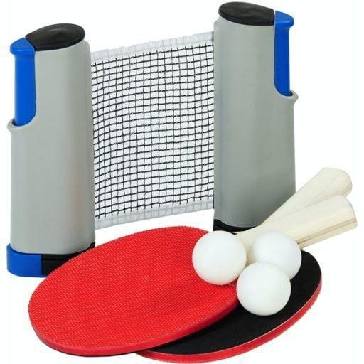 a table tennis set for cottage tech detox